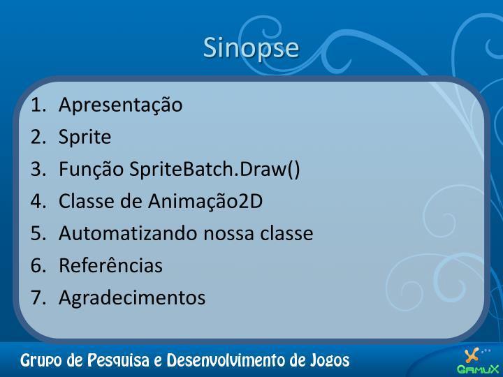 Sinopse