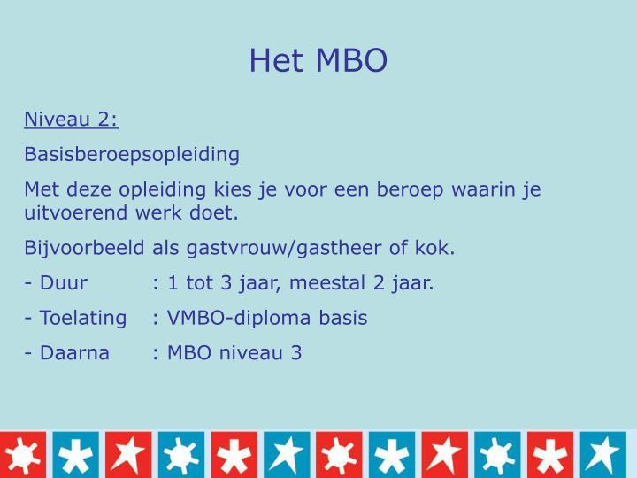 Het MBO