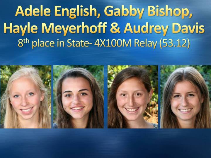Adele English, Gabby Bishop,