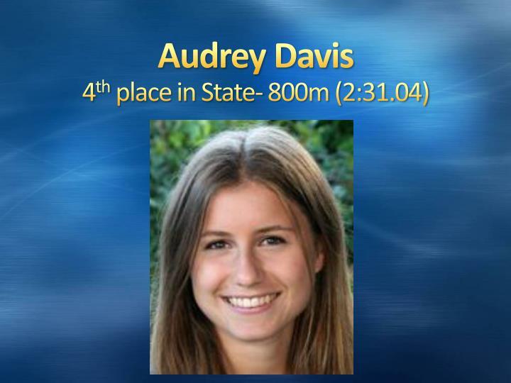 Audrey Davis