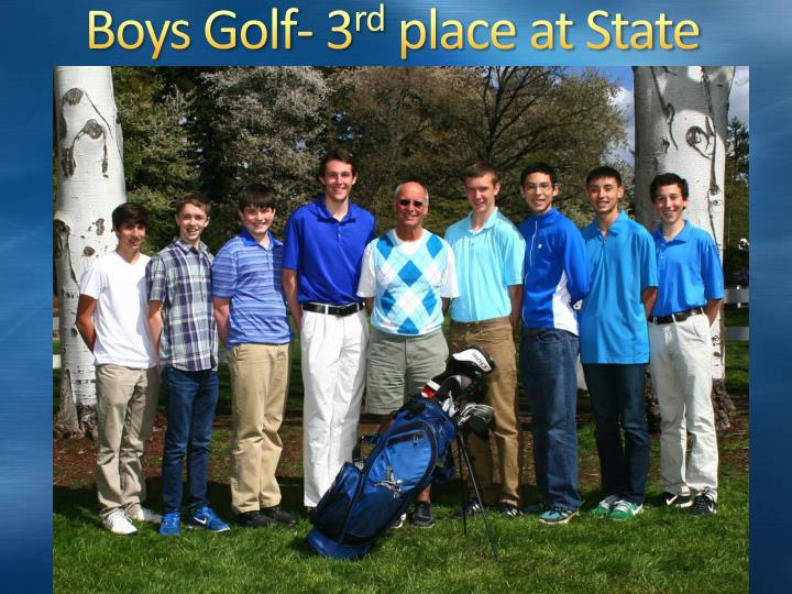Boys Golf- 3