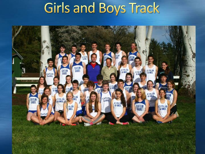 Girls and Boys Track