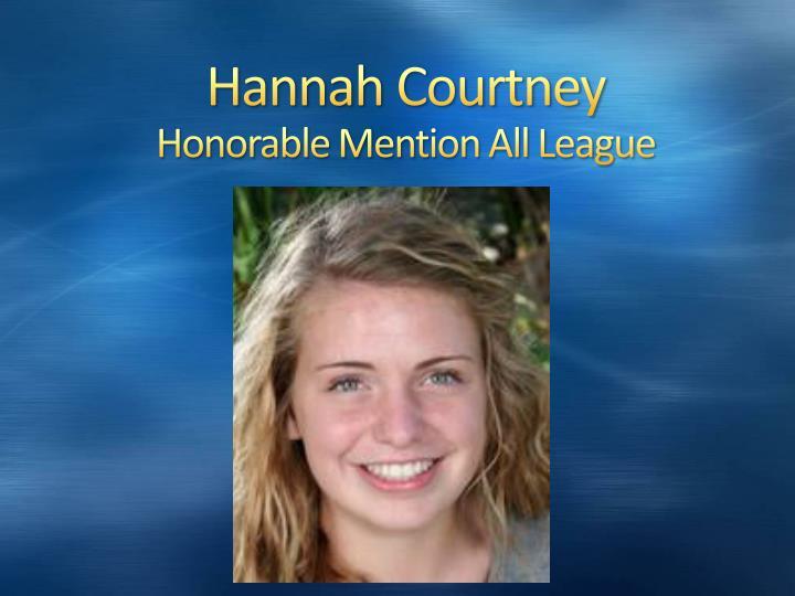 Hannah Courtney