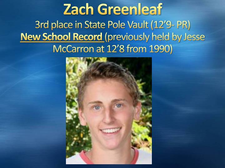 Zach Greenleaf
