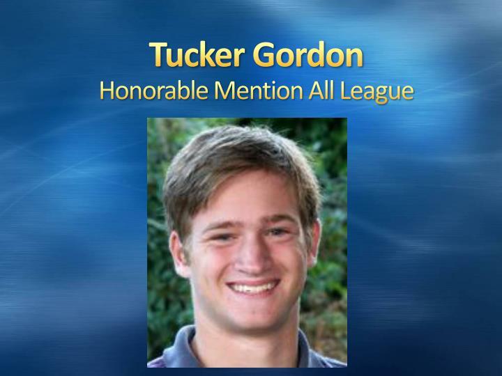 Tucker Gordon