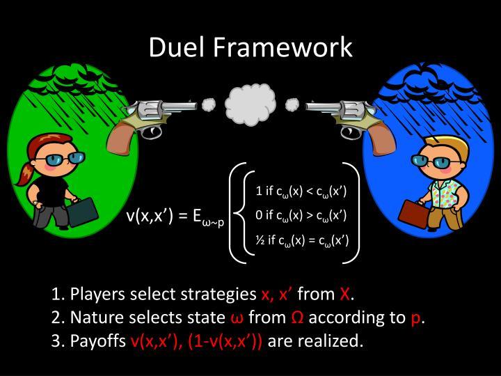Duel Framework