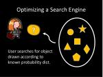 optimizing a search engine