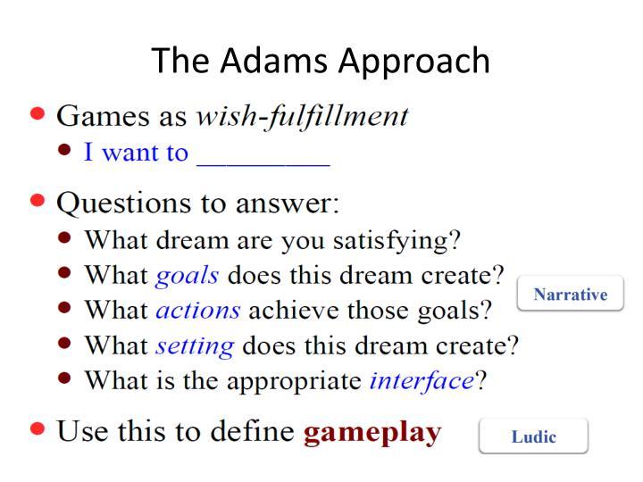 The Adams Approach