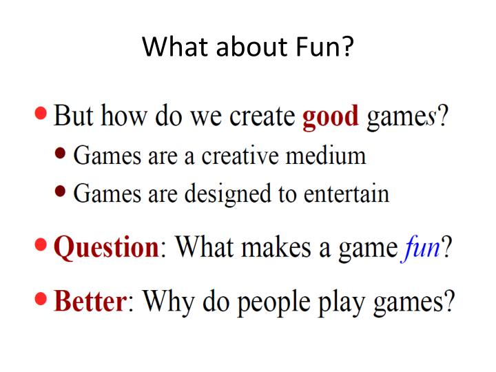 What about Fun?