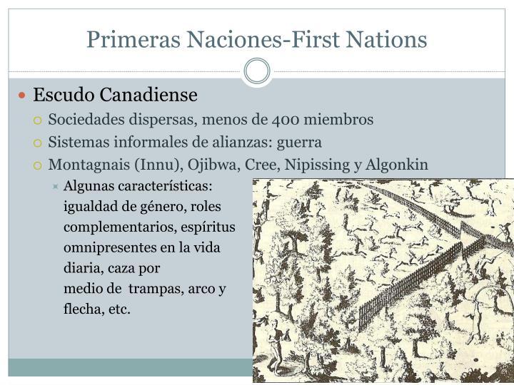 Primeras Naciones-