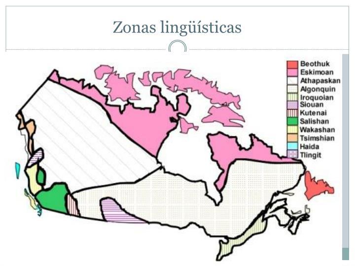 Zonas lingüísticas