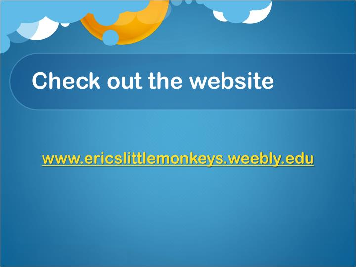 Check out the website