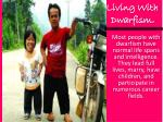 living with dwarfism