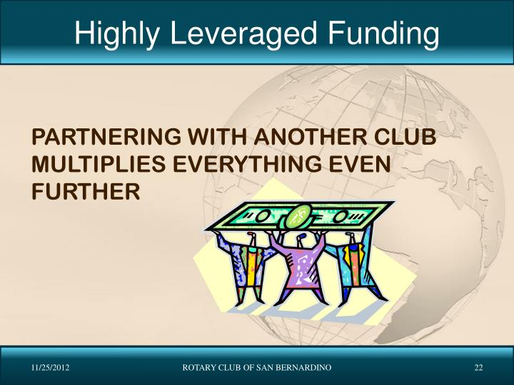 Highly Leveraged Funding