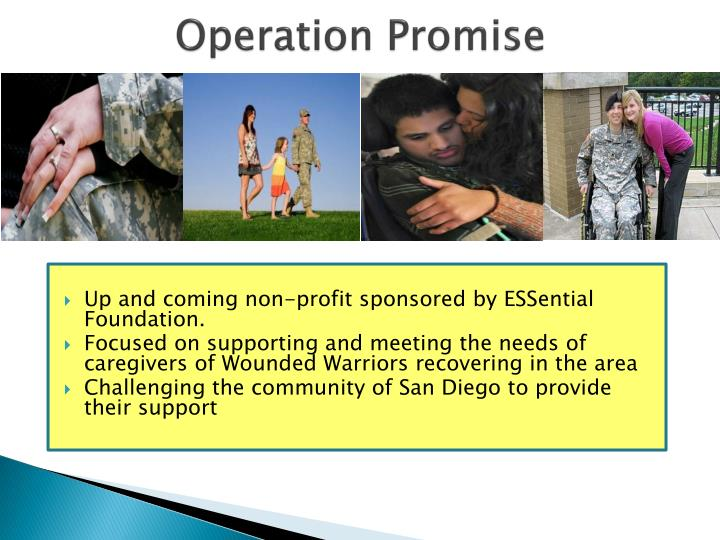 Operation Promise