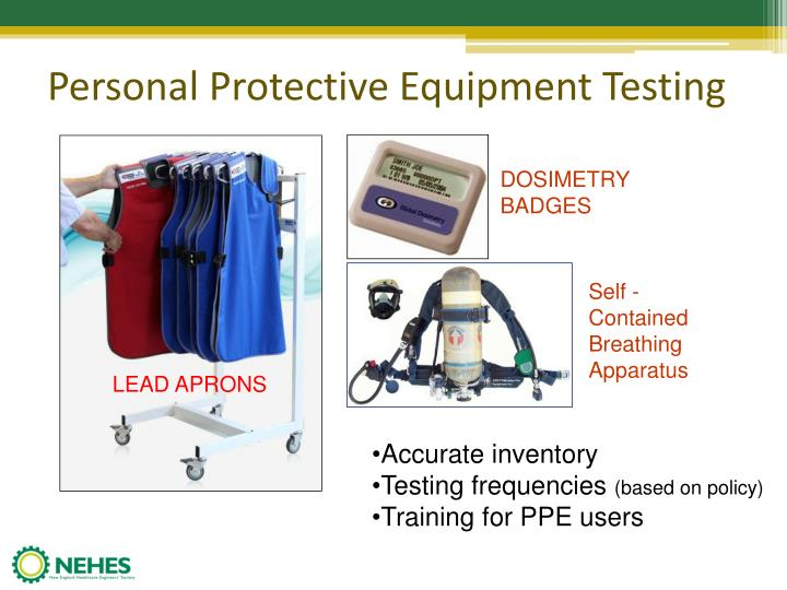 Personal Protective Equipment Testing