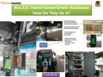 bus 2 0 transit based driver assistance how do they do it1