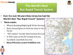 the world s best bus rapid transit system10