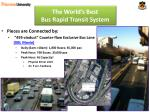 the world s best bus rapid transit system6