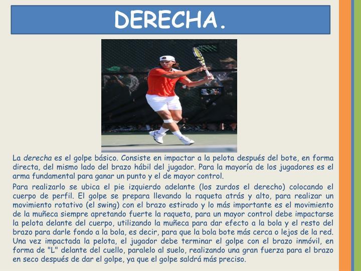 DERECHA.