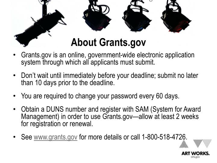 About Grants.gov