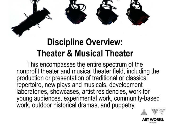 Discipline Overview: