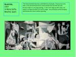 guernica 1937 in reina sof a madrid spain