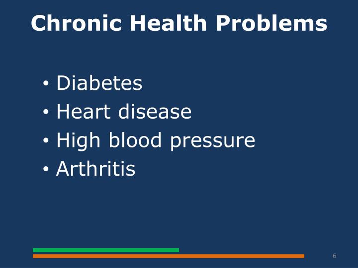 Chronic Health Problems