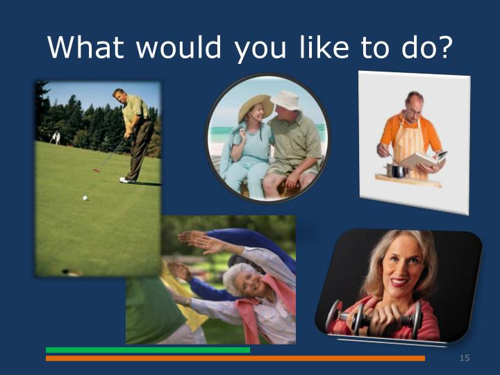 What would you like to do?