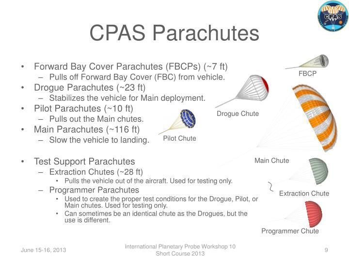 CPAS Parachutes