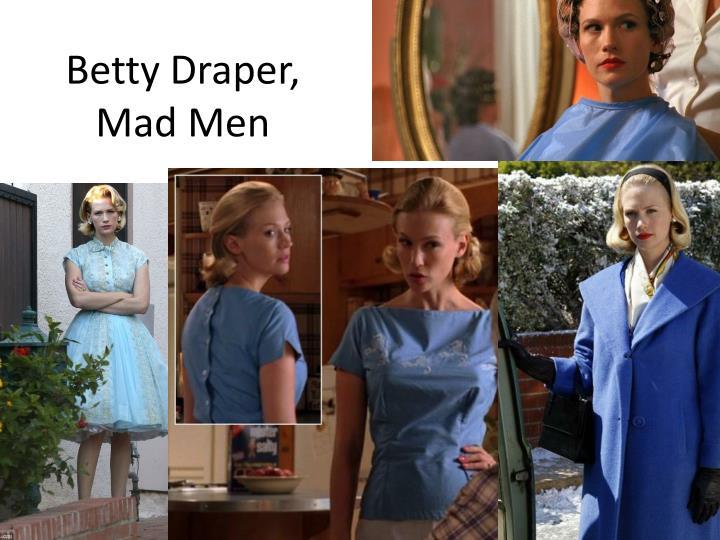 Betty Draper, Mad Men