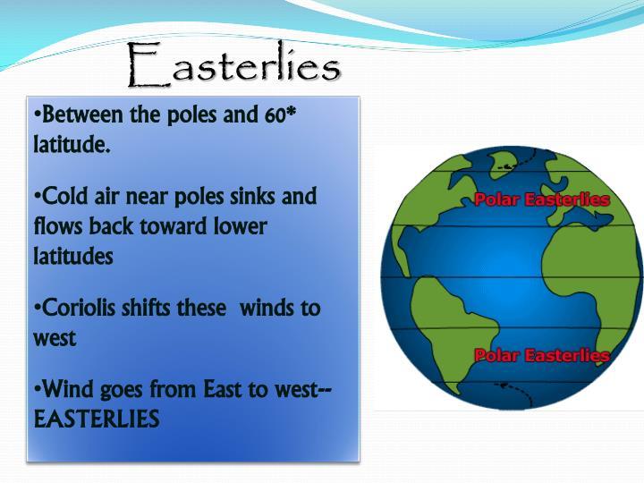 Easterlies
