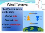 wind patterns