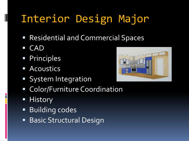Interior Design Major