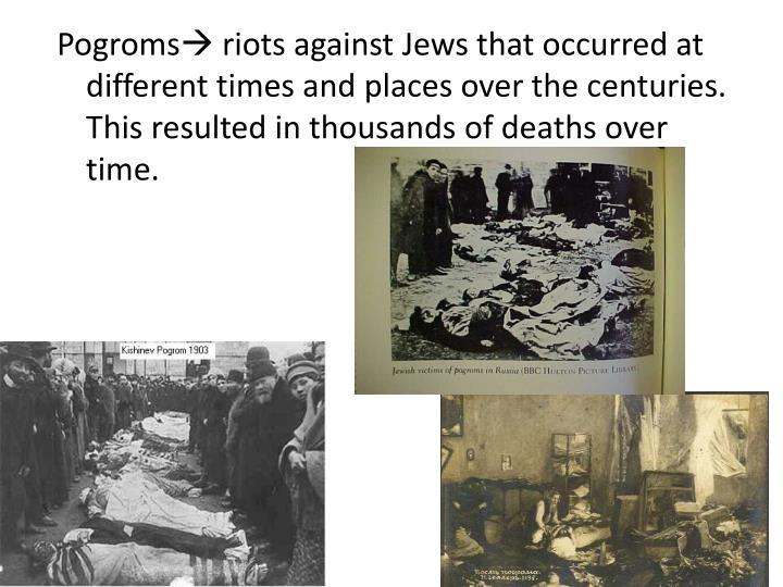 Pogroms