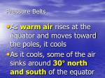 pressure belts