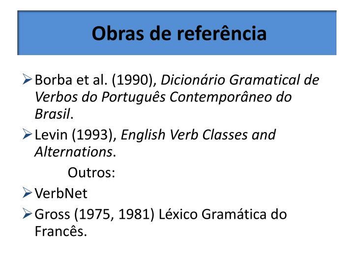 Obras de referência