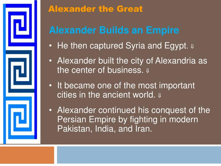 Alexander the Great