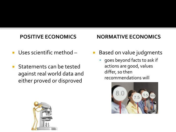 Positive economics