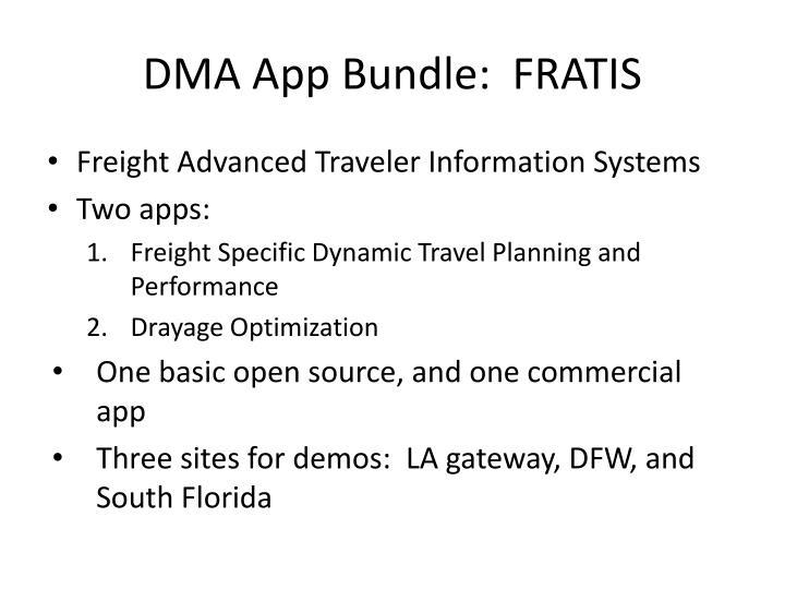 DMA App Bundle:  FRATIS