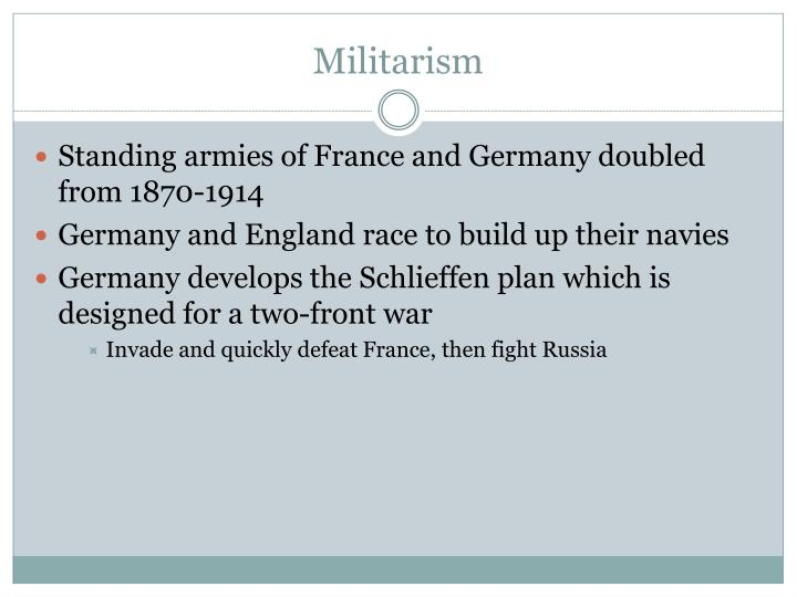 Ppt Causes Of World War One Powerpoint Presentation Id 2213725