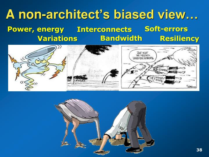 A non-architect's biased view…