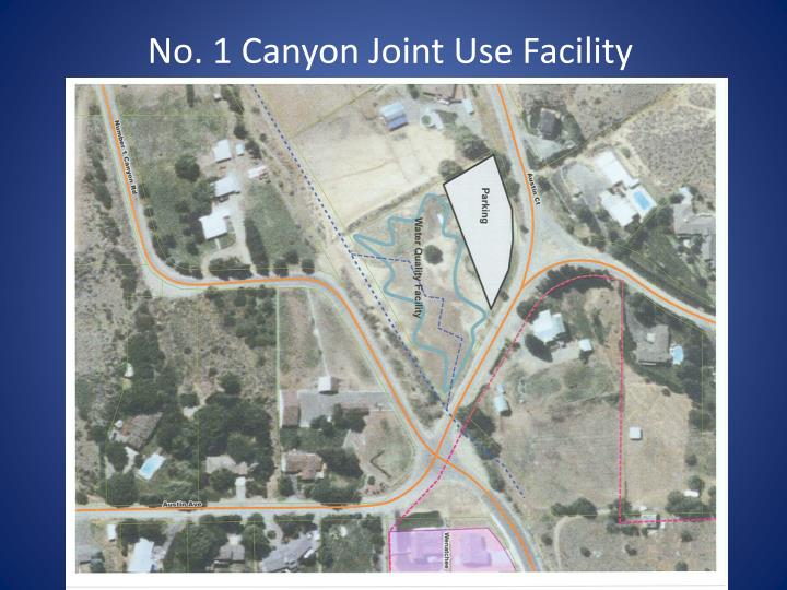 No. 1 Canyon Joint Use Facility