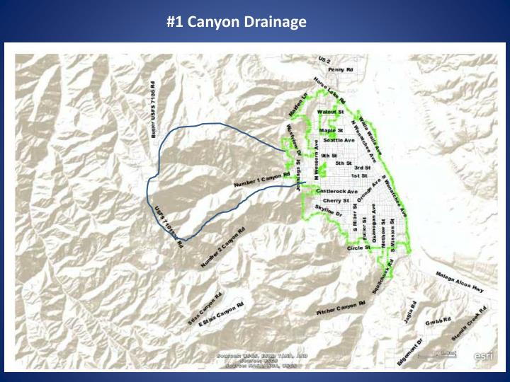 #1 Canyon Drainage