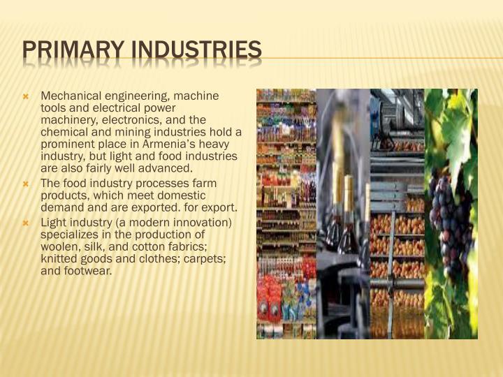 Primary Industries
