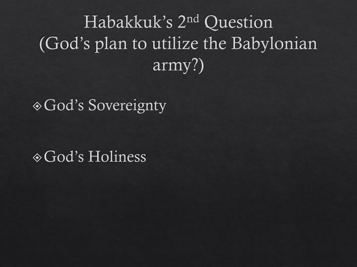 Habakkuk's 2