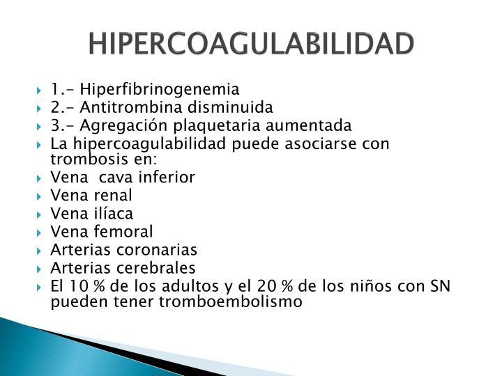 HIPERCOAGULABILIDAD