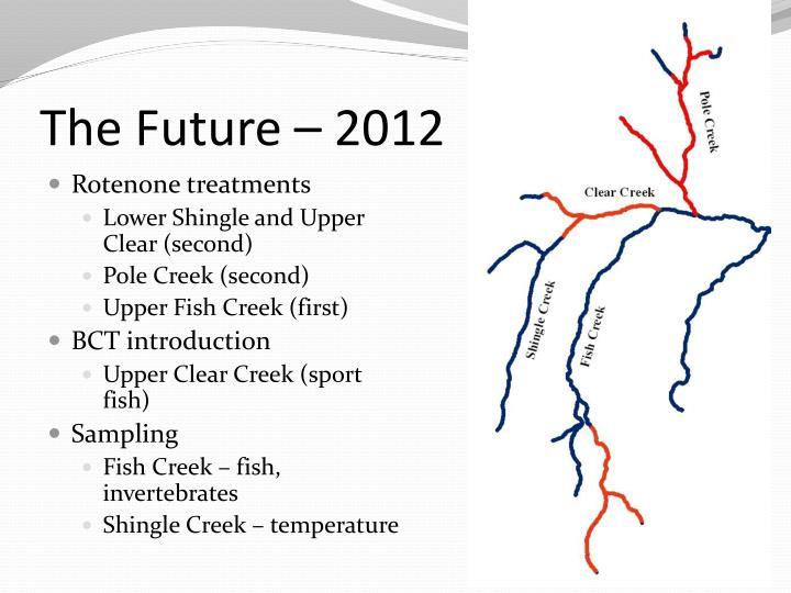 The Future – 2012