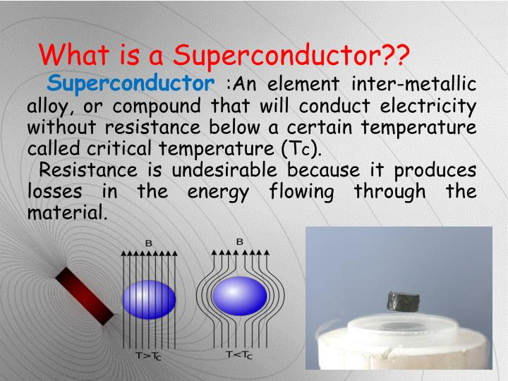 What is a Superconductor??