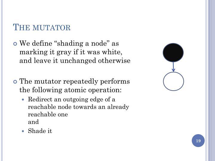 The mutator